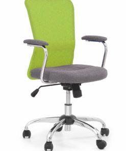 scaun de birou copii Andy gri verde