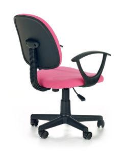 scaun de birou copii Darian bis roz 2