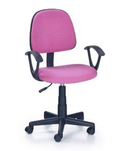 scaun de birou copii Darian bis roz