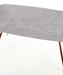 Masa Barcano marmura gri - L160xl90xh77 cm