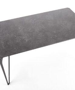 Masa Greyson sticla+ceramica - L160xl88xh75 cm