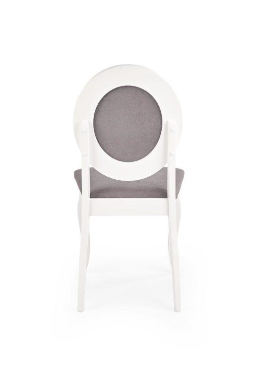 Scaun Barock material gri alb 5