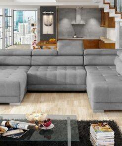 Coltar living extensibil Campo XL pe dreapta