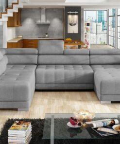 Coltar living extensibil Campo XL pe stanga