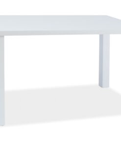 Masa Montego alba - L140 x l80 x h75 cm