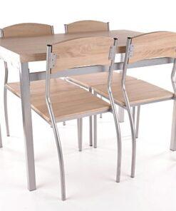 Set masa Astro cu 4 scaune 2