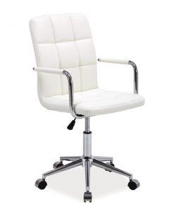 Scaun de birou Q-022 alb