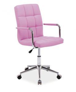 Scaun de birou Q-022 roz
