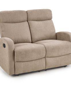 Canapea recliner tapitata Oslo 2S Bej