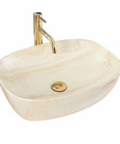 Lavoar Bianco crem ceramica sanitara