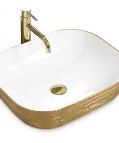 Lavoar Floria gold ceramica sanitara