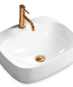 Lavoar Luiza alb ceramica sanitara