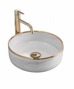 Lavoar Merida ceramica sanitara gri