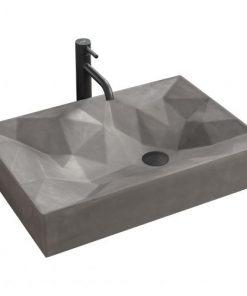 Lavoar Rock ceramica sanitara gri mat
