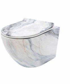Vas wc Carlos granit suspendat capac slim softclose