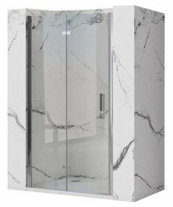 Ușă pentru dus Molier sticla securizata crom